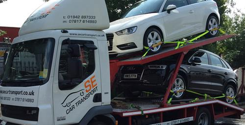 car delivery manchester